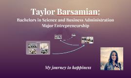 Taylor Barsamian Personal Pitch