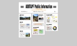 ADOT&PF Public Informatoion