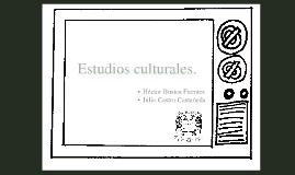 Estudios Culturales.