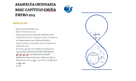 ASAMBLEA ORDINARIA BASC CAPÍTULO UMIÑAENERO 2015