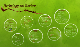 Herbology 201 Review