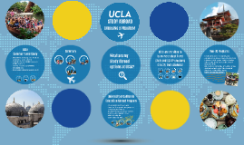 UCLA Study Abroad: Choosing A Program
