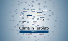 Crime in Toronto