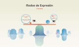 Modos de Expresión