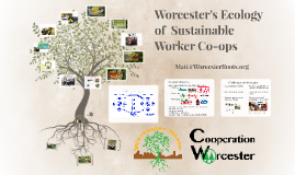 Worcester's Ecology of Sustainable Worker Co-ops Nov 2018