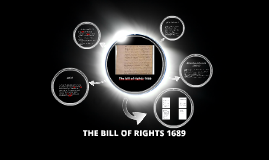 Copy of The bill of rights 1689