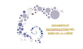 DESARROLLO DEL NIÑO DE 0 A 3 AÑOS