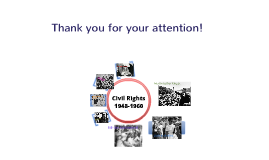 Civil Rights 1948 to 1960