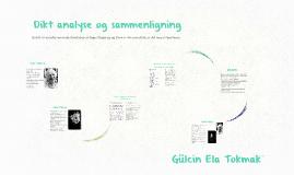 Copy of Dikt analyse og sammenligning