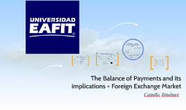 Week 11: The Balance of Payments and its Interpretations