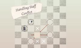 Handling Staff Conflict