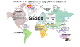 GE300 - Intro to course and concepts