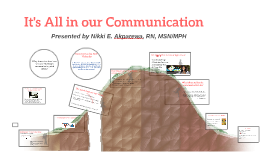 Crossing the Communication Chasm
