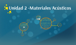 Copy of Materiales acústicos
