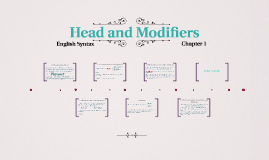 Copy of Head and Modifiers