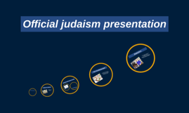 Official judaism presentation