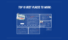 Top 10 Best Places to Work: