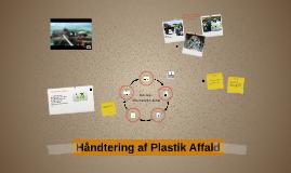 Håndtering af plastik affald