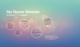 No Name Woman