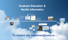 Graduate Education & Health Informatics