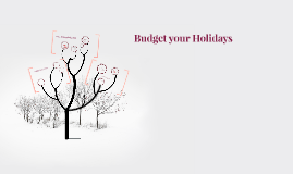 Budget your Holidays