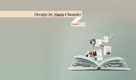Occupy by Noam Chomsky