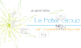 Copy of LE HOTEL GROUP
