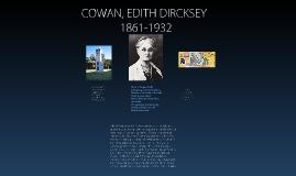 Copy of Copy of Copy of COWAN, EDITH DIRCKSEY