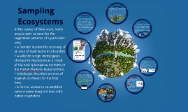 Sampling Ecosystems
