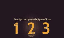 3H H4 P4 Gevolgen van gewelddadige conflicten