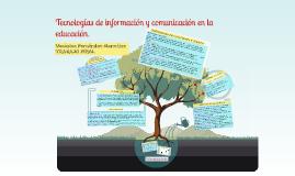 Copy of Las TIC en Educación