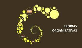 TEORIAS ORGANIZATIVAS