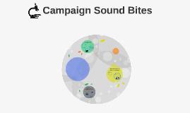 Campaign Sound Bites