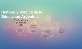 Historia y Política de la