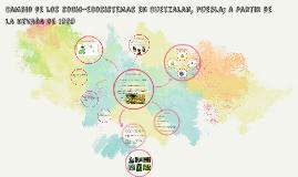 Cambio de los socio-ecosistemas en Cuetzalan, Puebla; a part