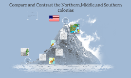 compare and contrast the north and south colonies