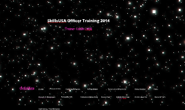 SkillsUSA MN Officer Training 2014
