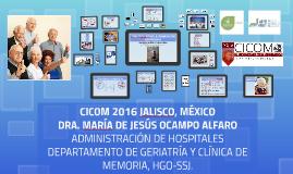 CICOM 2016 JALISCO, MÉXICO