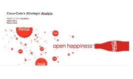 Coca-Cola's Strategic Analyis