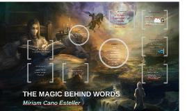 THE MAGIC BEHIND WORDS