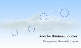 Broncho Business Buddies
