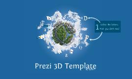 Copy of Prezi 3D TEMPLATE