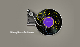 Listening History - Questionnaire