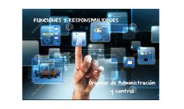 FUNCIONES Y RESPONSABILIDADES FONDOS