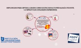 DIPLOMADO PARA OPTAR A GRADO COMO LICENCIADO EN PEDAGOGÍA IN