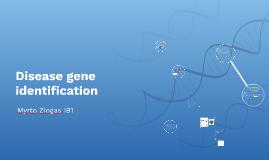 Disease gene identification