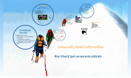 Community Based Intervention