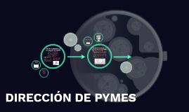 DIRECCIÓN DE PYMES