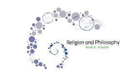Week 8: Atheisme
