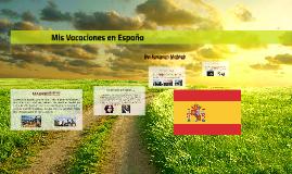 Mis vacaciones en España